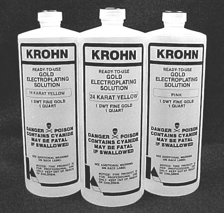 Gold Electroplating Solutions - Krohn Industries, Inc