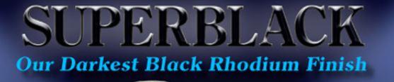 Superblack Black Rhodium Logo - Cohler