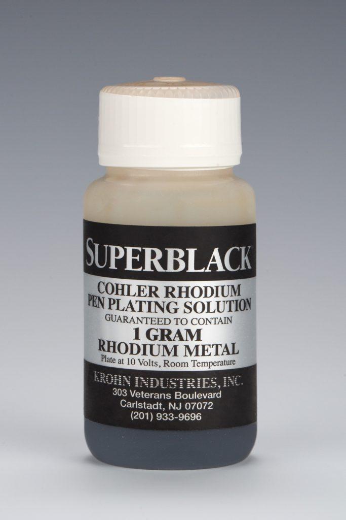 Superblack Black Rhodium Pen Plating - Cohler
